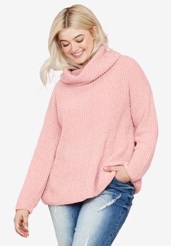 Chenille Turtleneck Sweater,