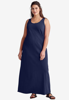 Sleeveless Knit Maxi Dress by ellos®,
