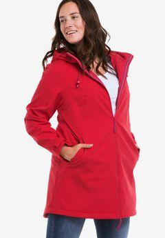 Zip Front Bonded Fleece Jacket by ellos®,