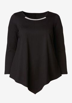 c93ea89cb3 Clearance Plus Size Tops, Sweaters & Cardigans   Roaman's