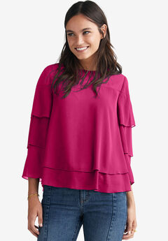 39251a553faa1a Cheap Plus Size Shirts & Blouses for Women | Roaman's