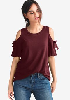 Cold-Shoulder Top by ellos®,