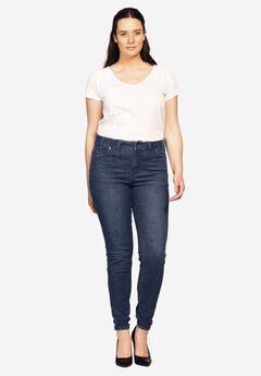 Ankle Zip Skinny Jeans by ellos®,