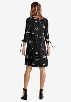 f29bd58dce2 Drawstring Sleeve Knit Dress by ellos®
