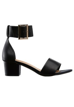 Ankle Strap Sandal by ellos®, BLACK, hi-res