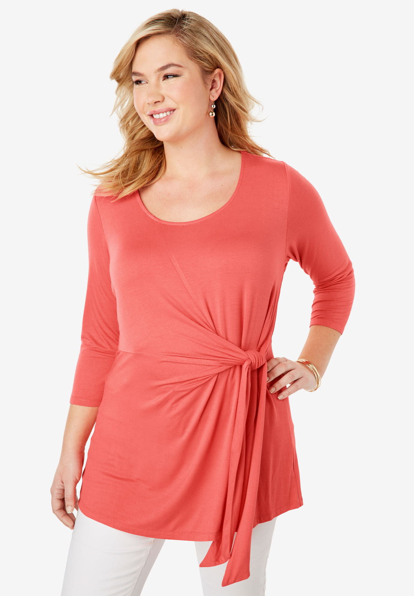 Knot Front Tunic,