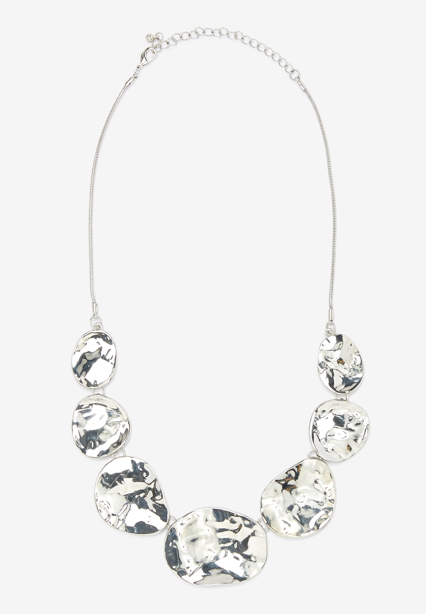 Statement Necklace, SILVER