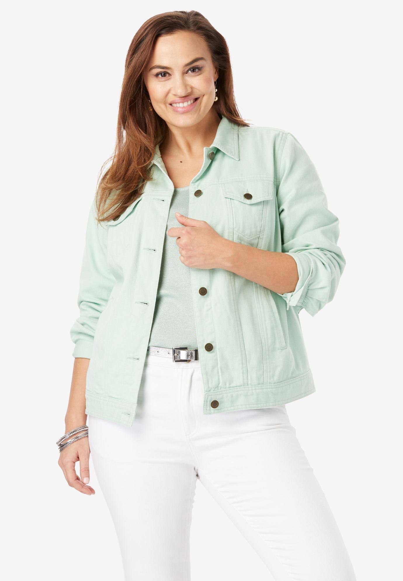 07df3943ec8 Classic Cotton Denim Jacket
