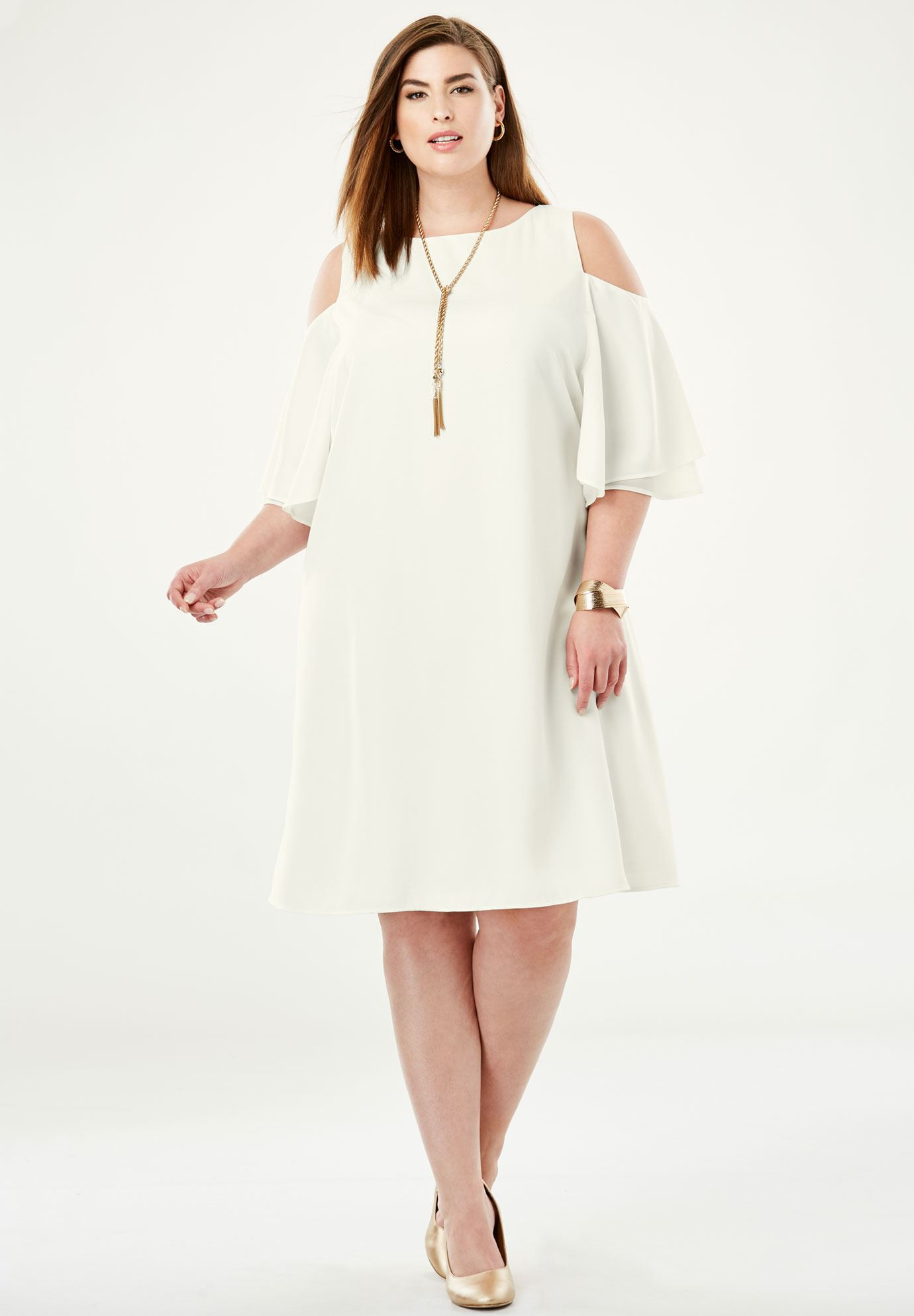 Cold Shoulder Dress,