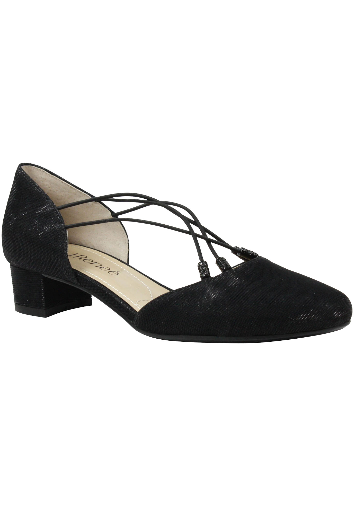 Charolette Pumps by J.Renee®, BLACK, hi-res
