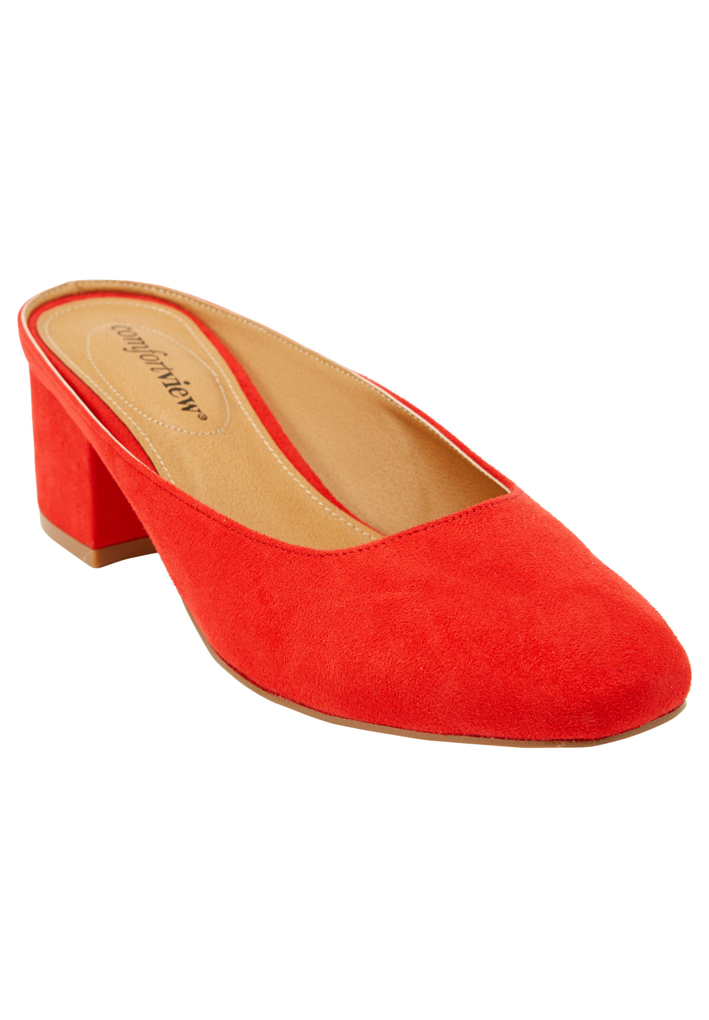 Judy Mules by Comfortview®, NEW HOT RED, hi-res
