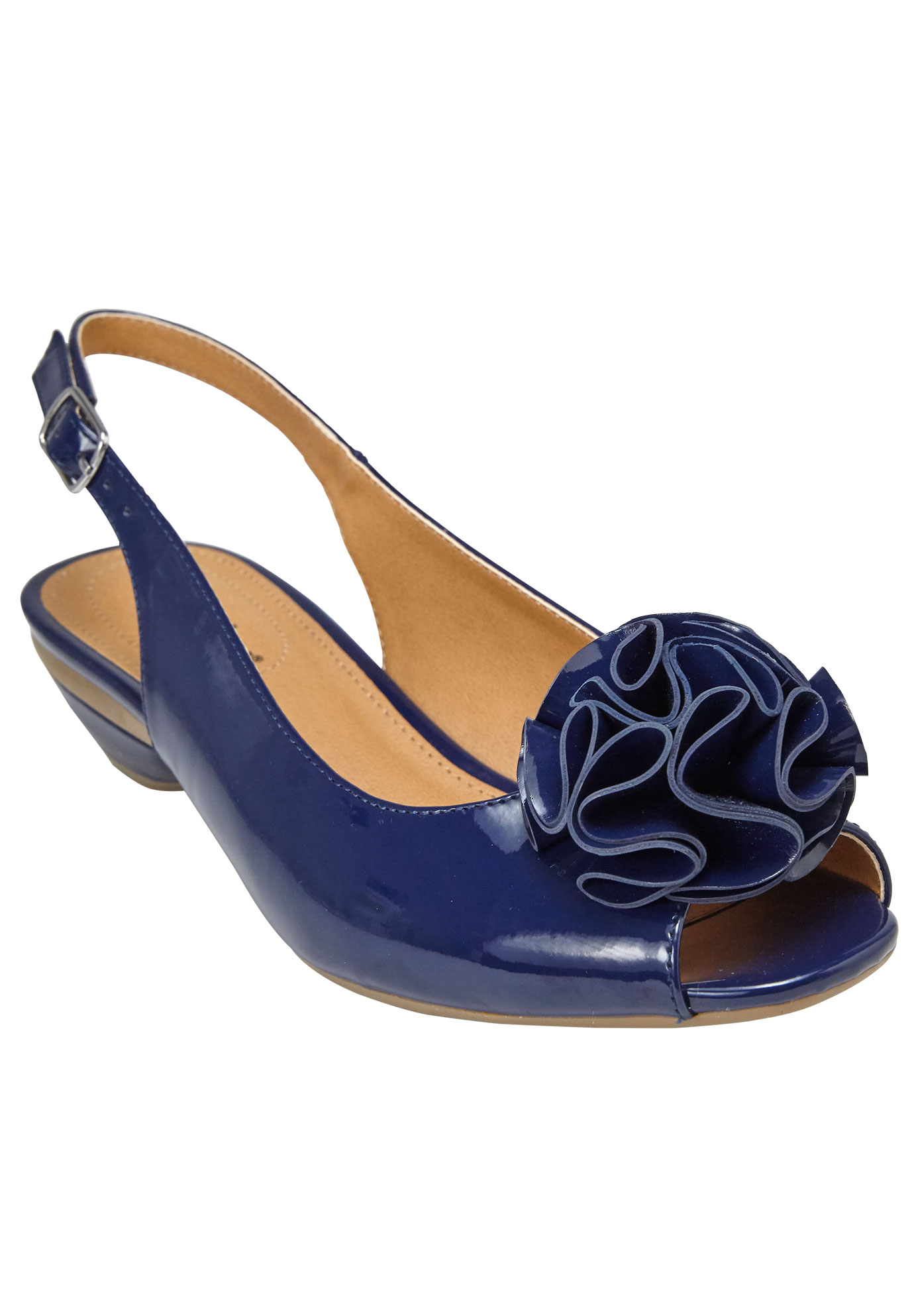 Del Pumps by Comfortview®, NAVY, hi-res