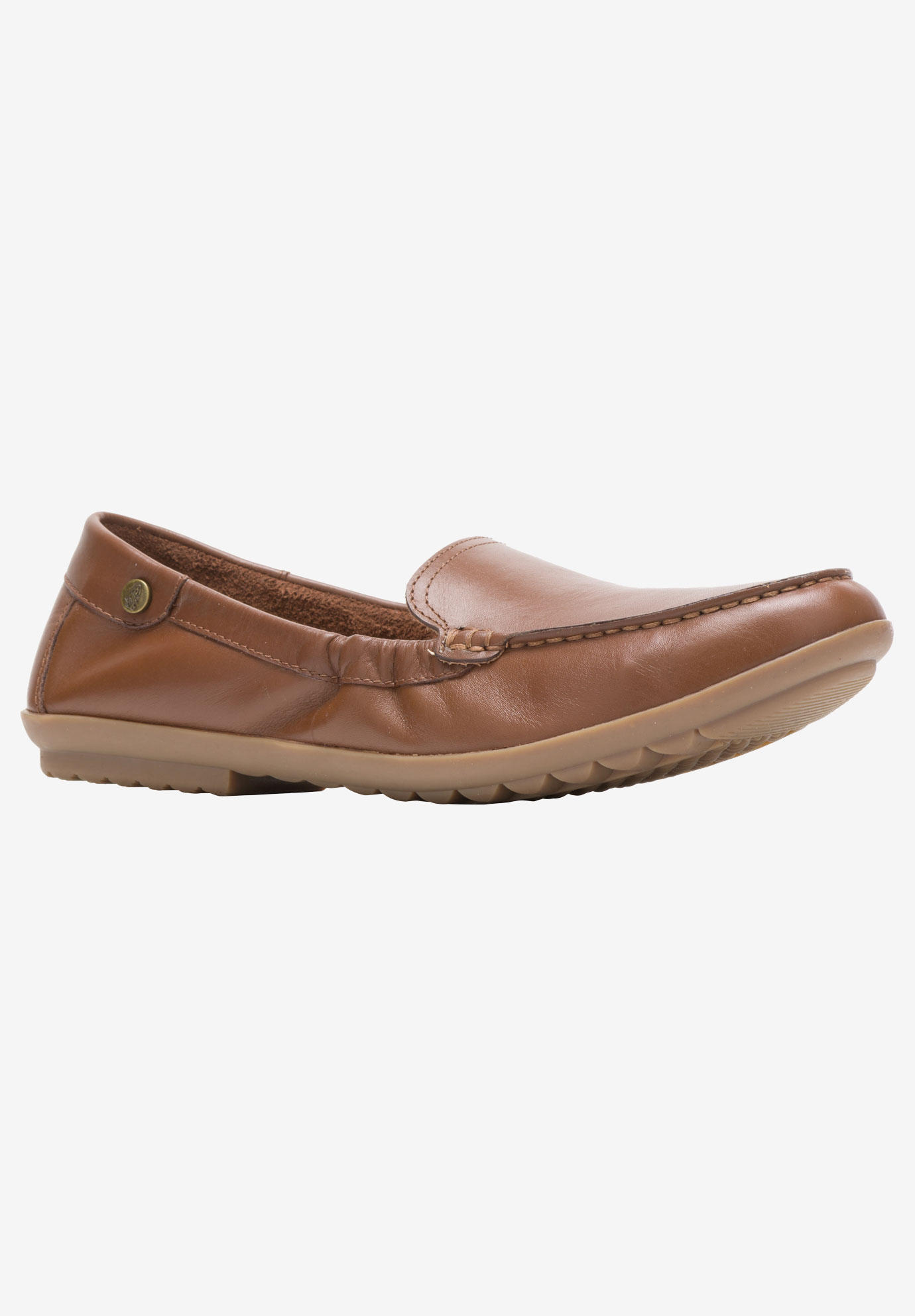 Aidi Moccasin by Hush Puppies, DACHSHUND LEATHER