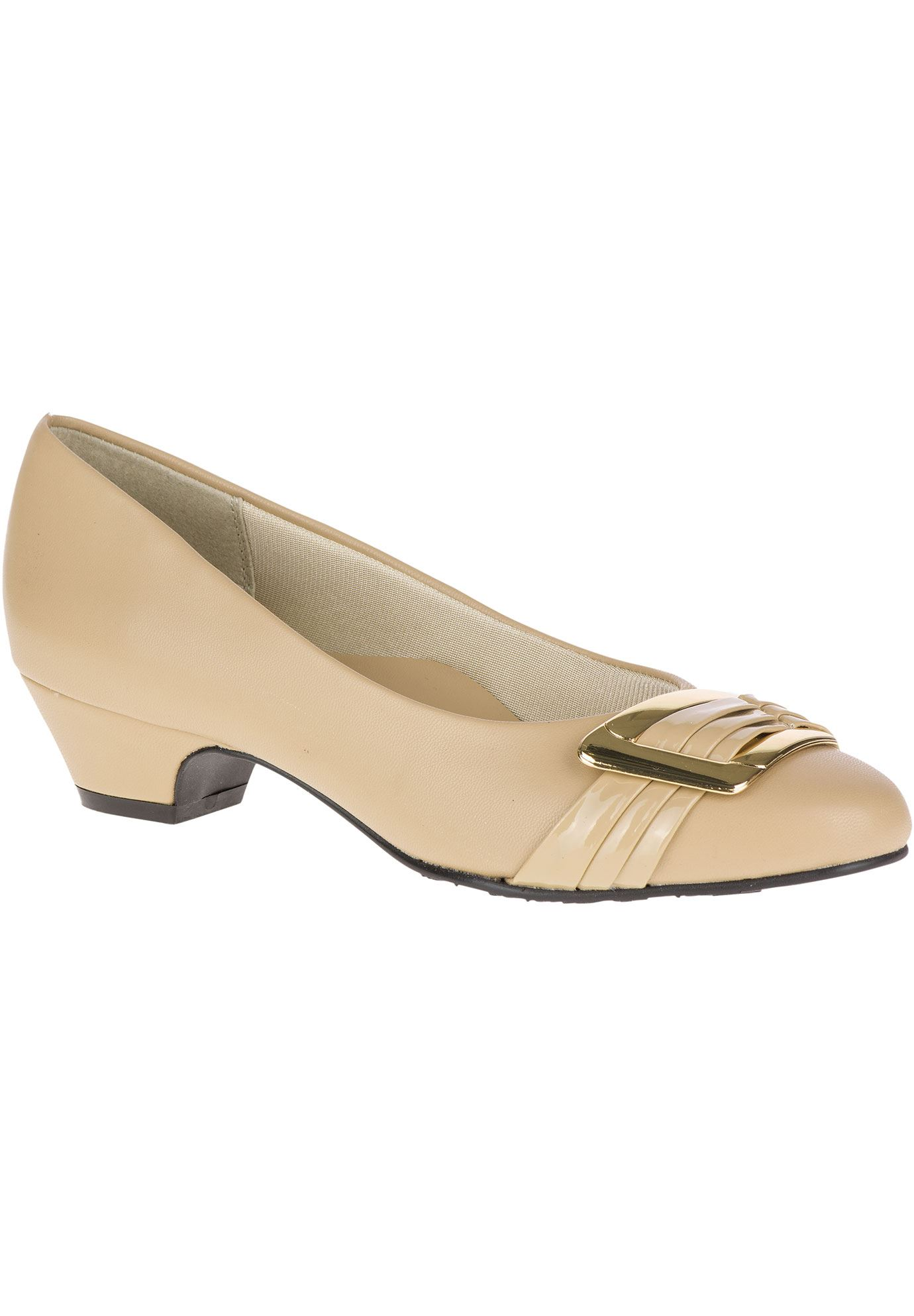 Pleats Be With You Pumps by Soft Style,