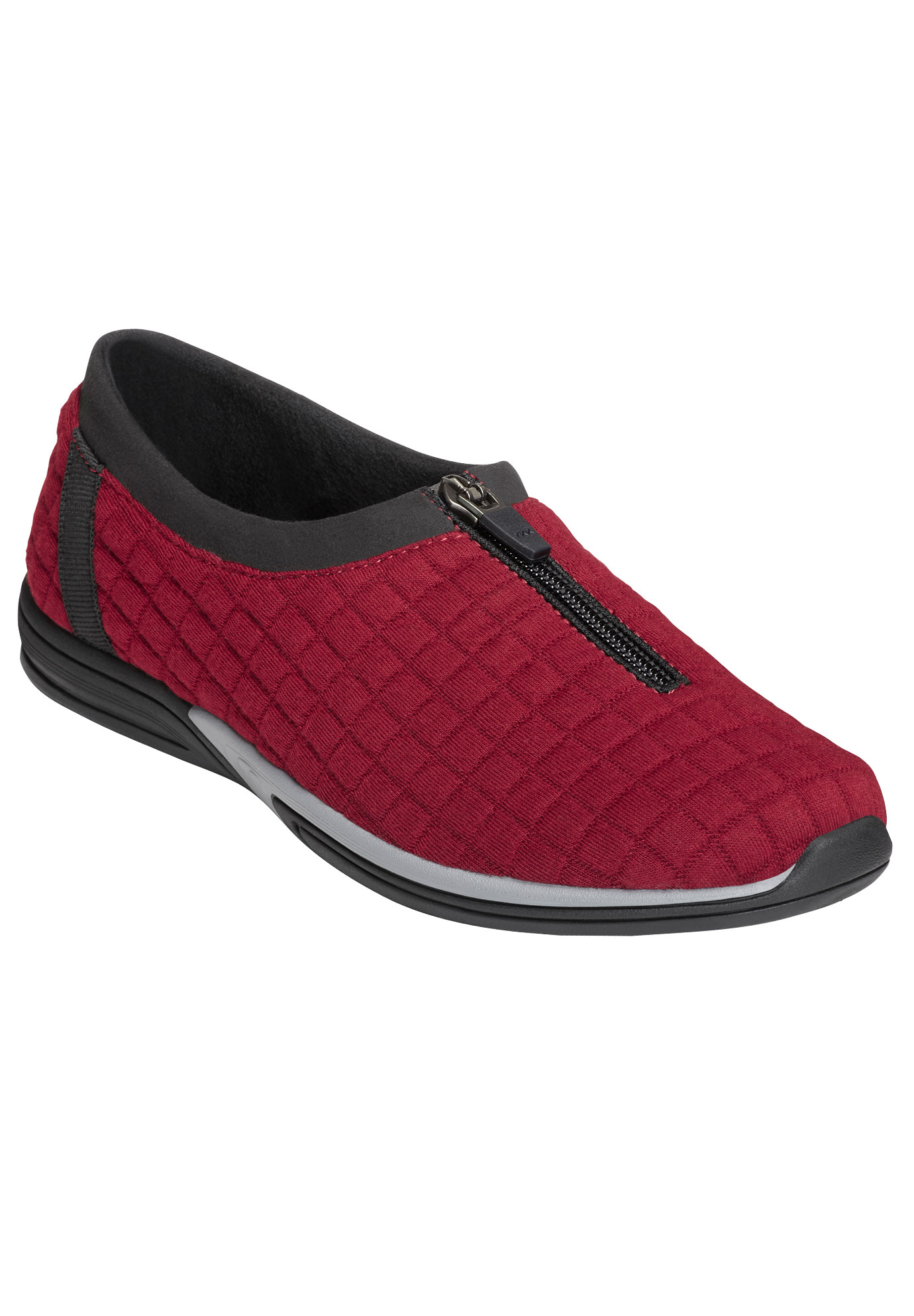 Traveler Flats by Aerosoles®, DARK RED COMBO, hi-res
