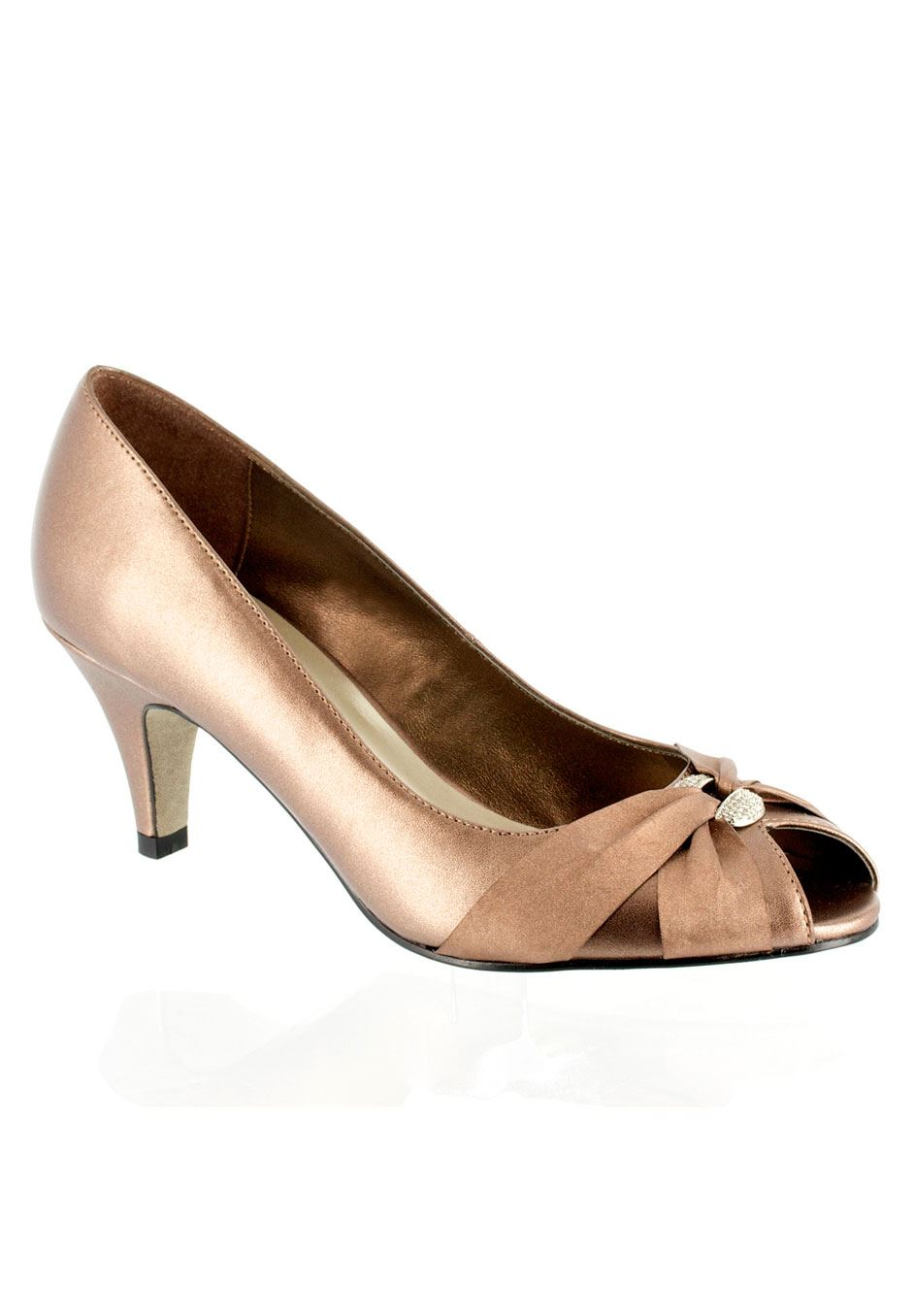Sunset Peep toe Pump by Easy Street®,