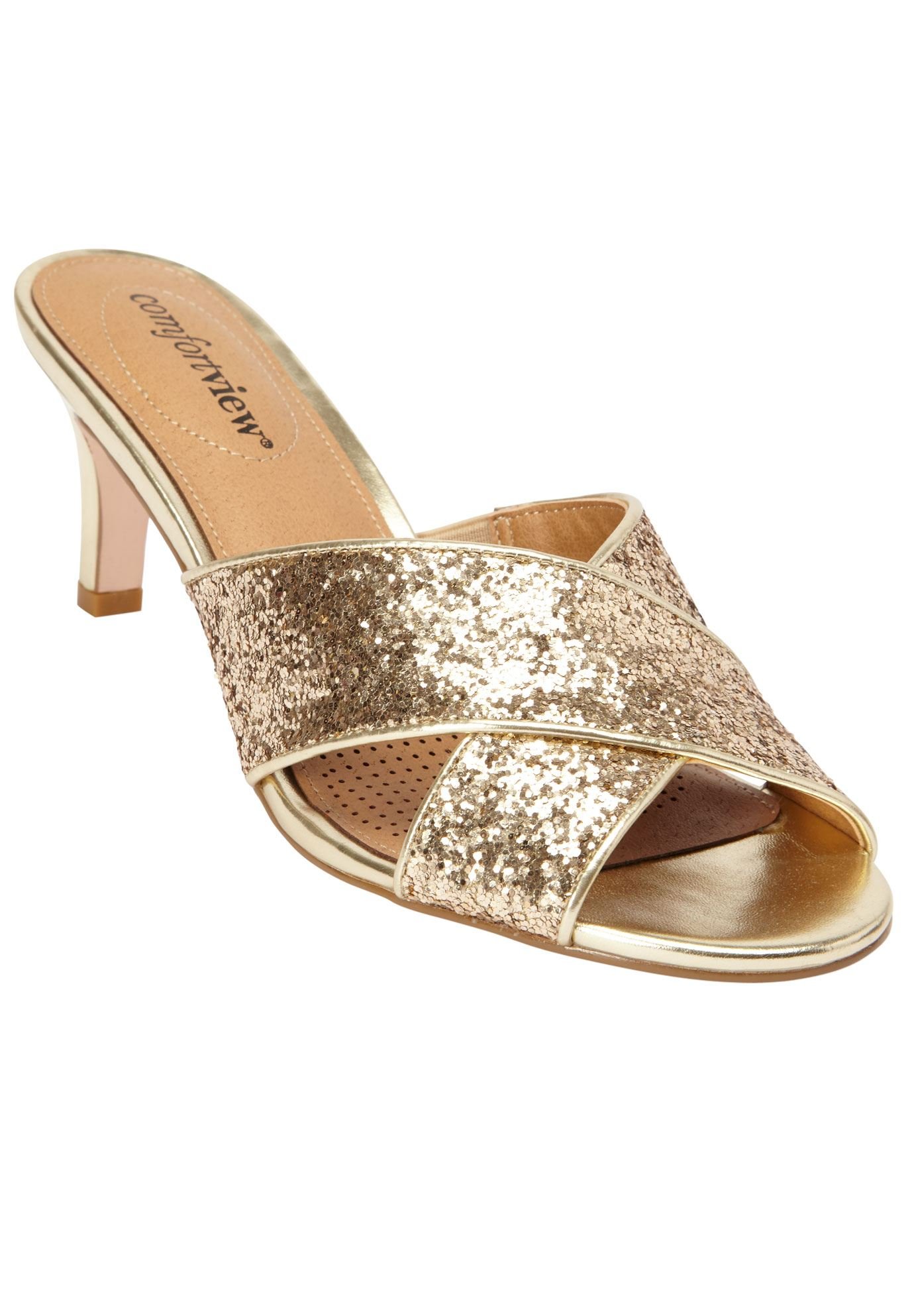 The Geraldine Mule by Comfortview®,