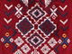 Embroidered Cold-Shoulder Top, CRIMSON TRIBAL, swatch