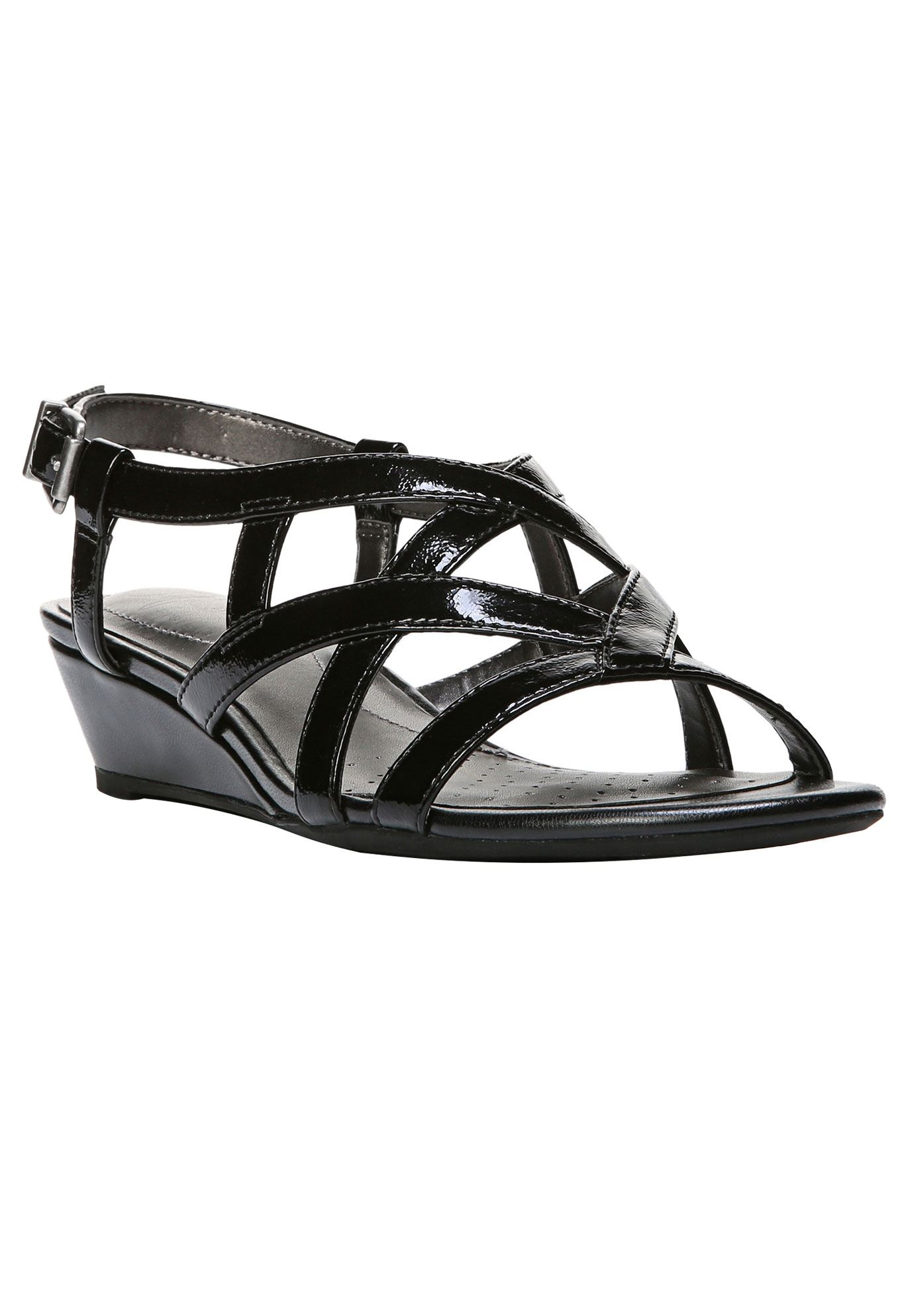 Yuppies Sandals by LifeStride®, BLACK, hi-res