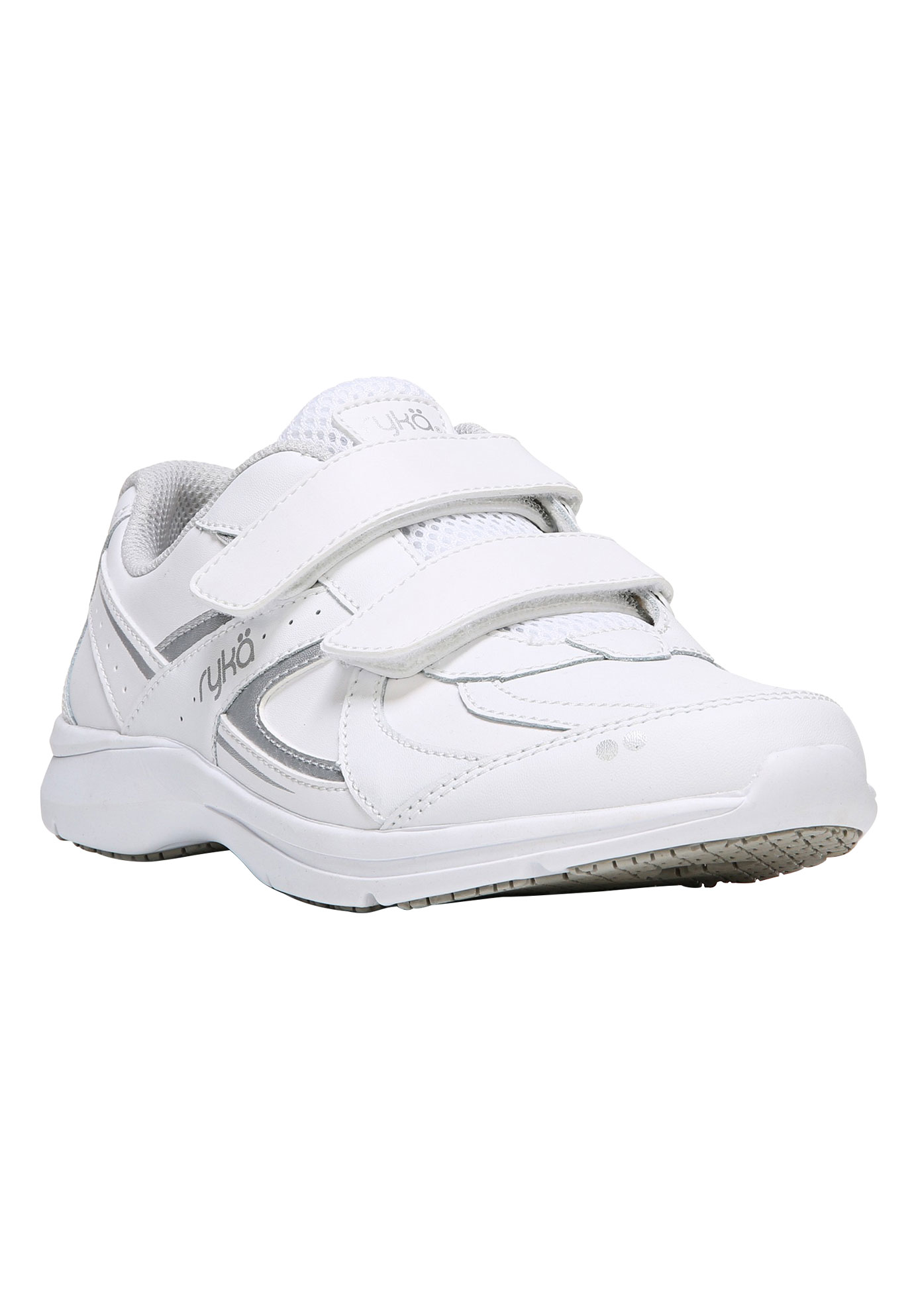 Sandria SR Sneakers by Ryka®, WHITE, hi-res
