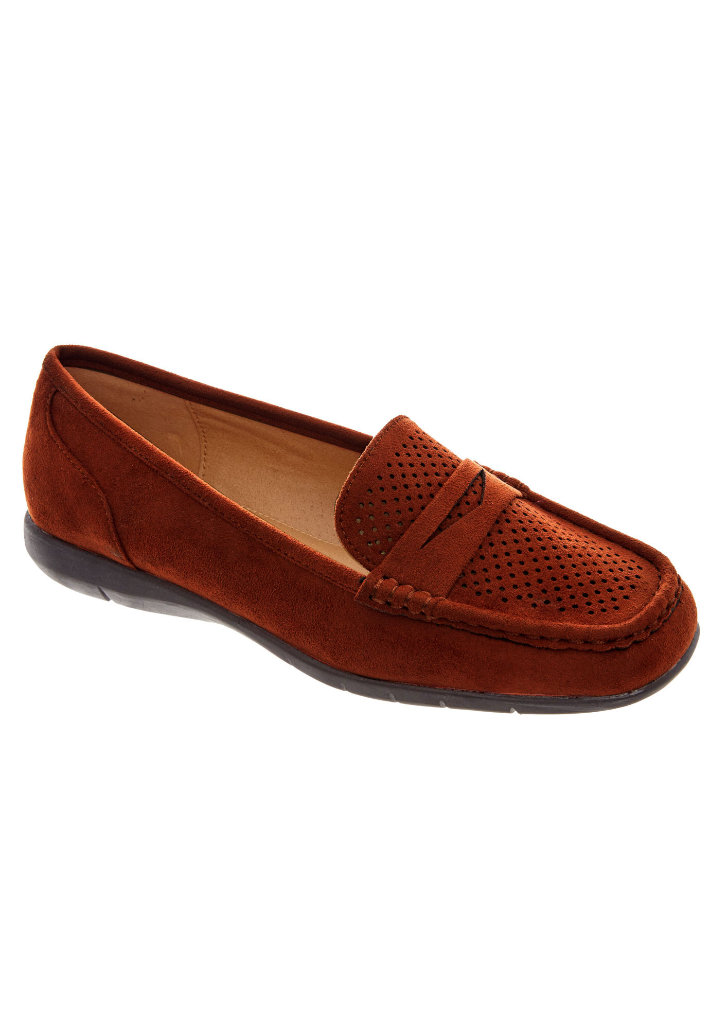 Jayda Flats by Comfortview®, COPPER, hi-res