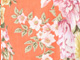 English Floral Tunic, ORANGE ZEST, swatch