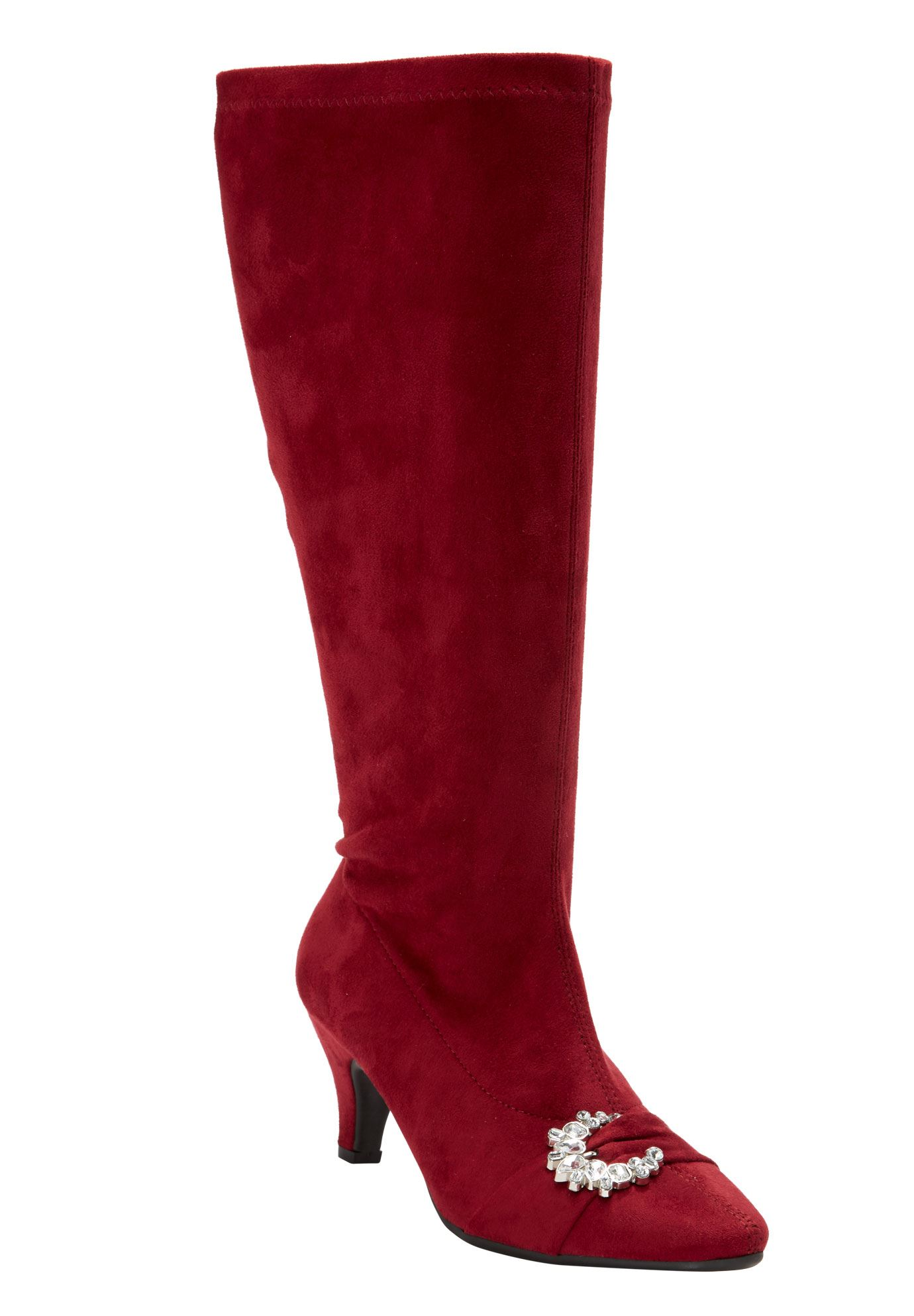 The Chrissy Wide Calf Boot by Comfortview®,