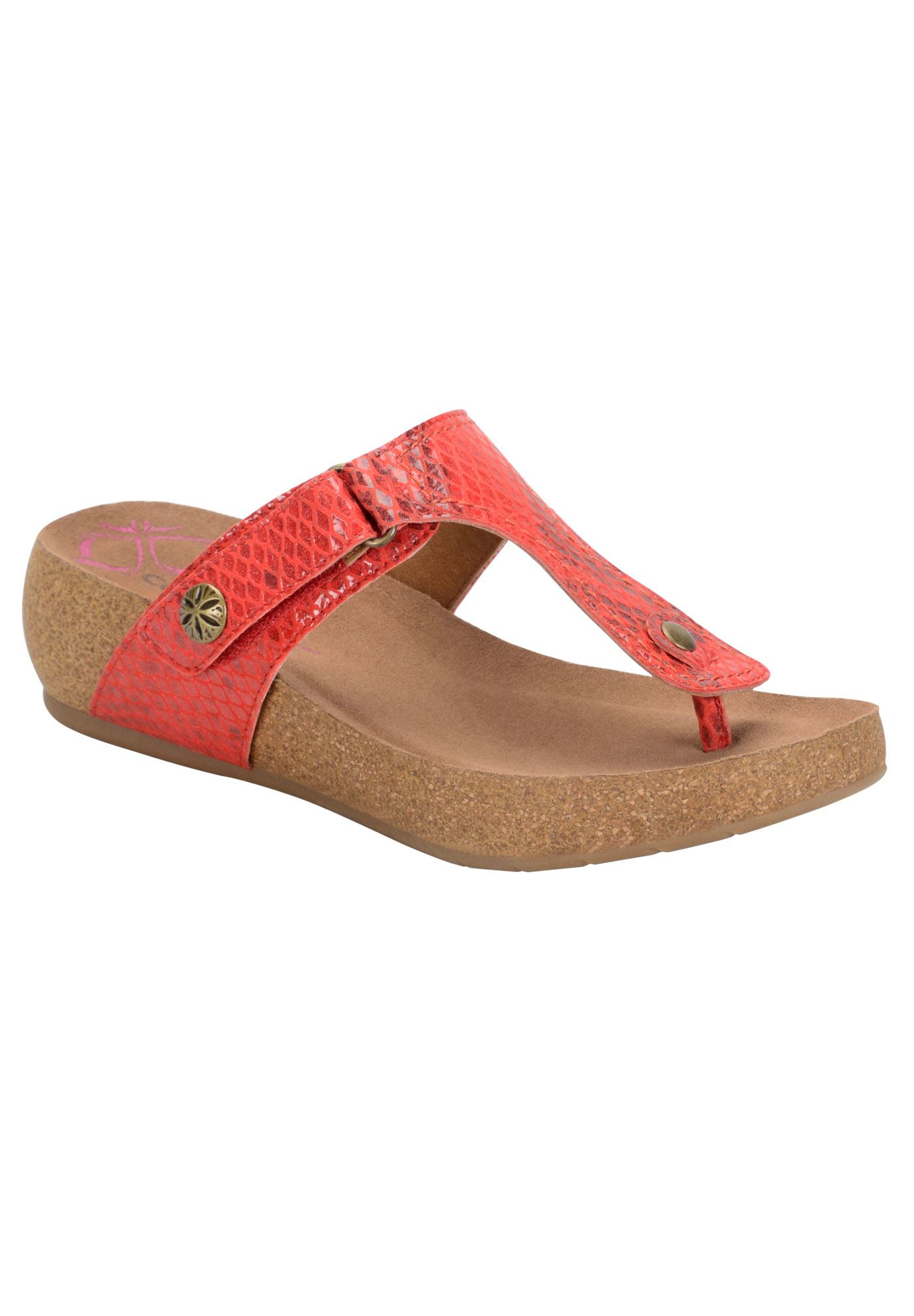 Shantel Sandals by Comfortiva®, RED, hi-res