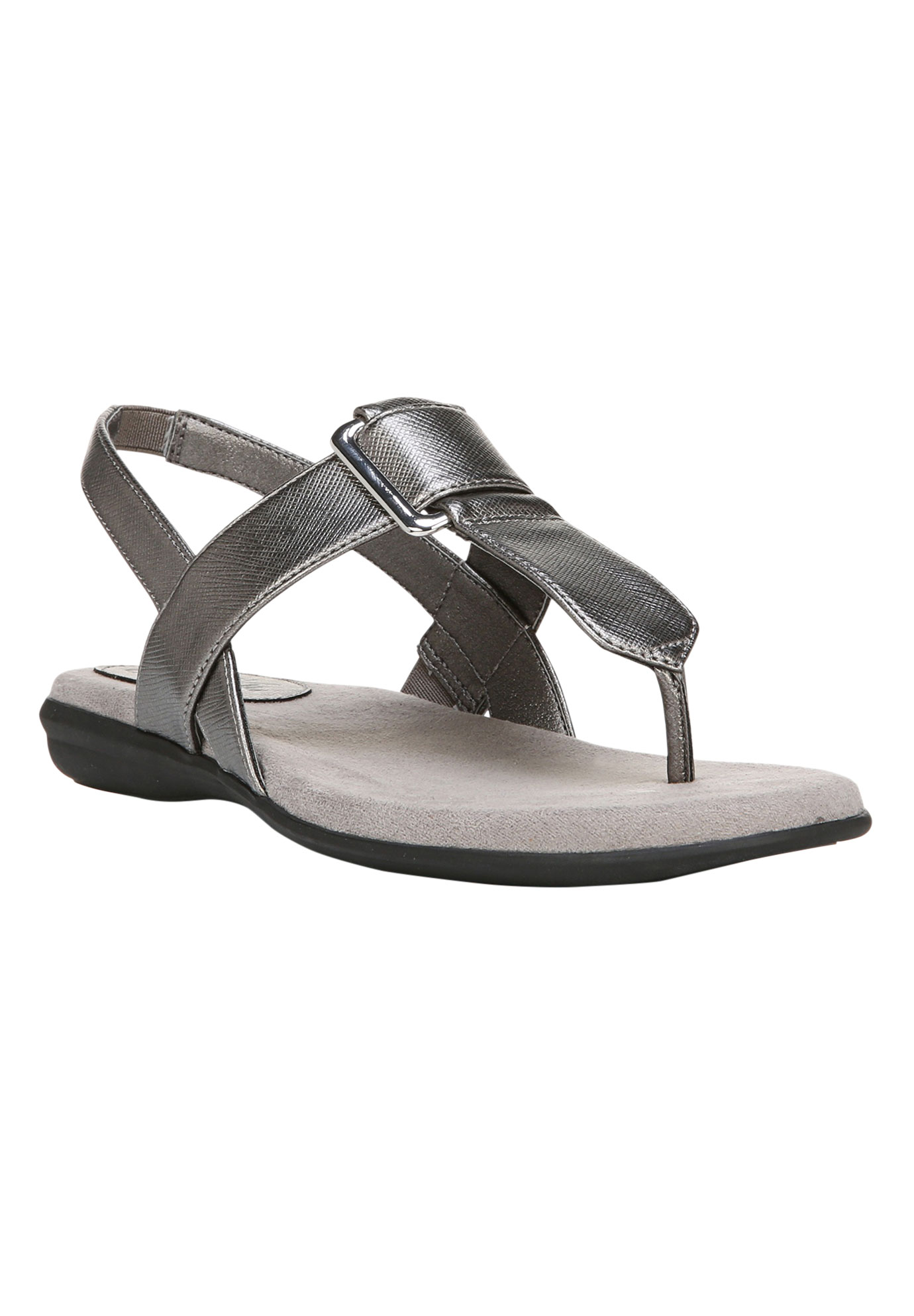Brooke Sandals by LifeStride, PEWTER, hi-res