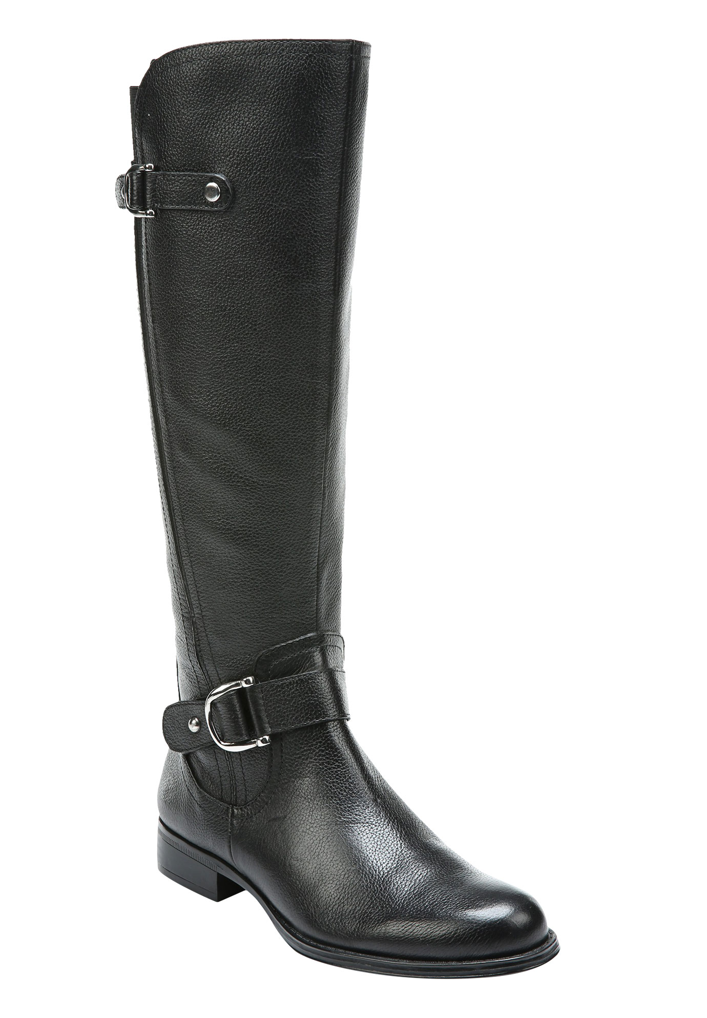 Jenelle Boots by Naturalizer®, BLACK, hi-res