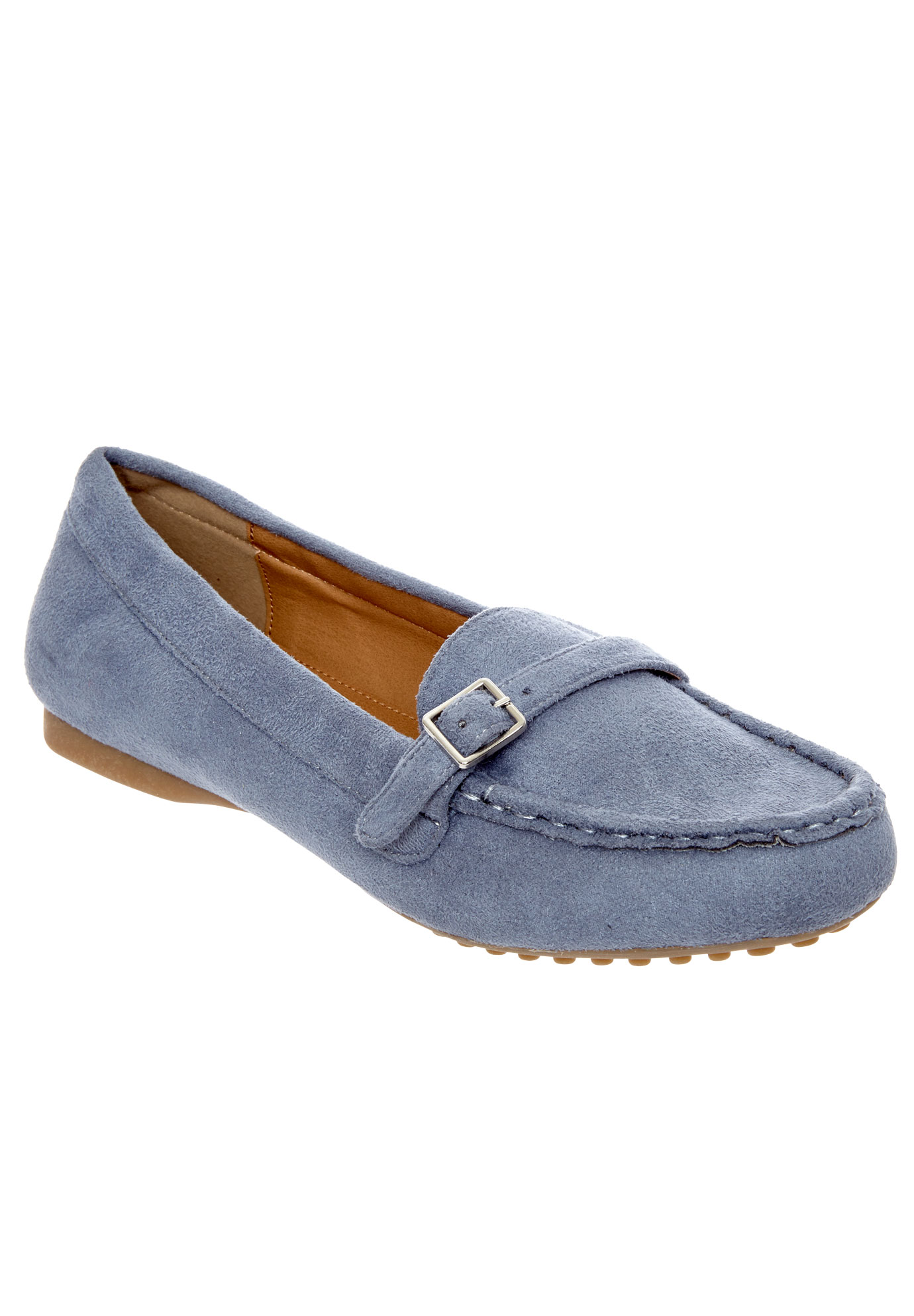 Brylee Flats by Comfortview®, CHAMBRAY, hi-res
