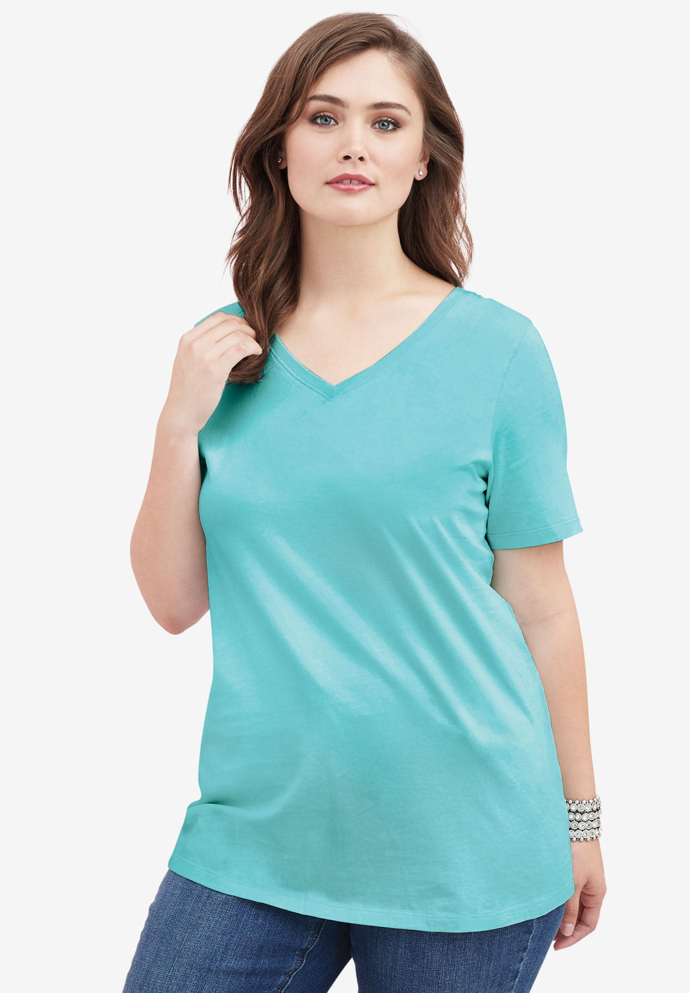 Ultimate V-Neck Tee,