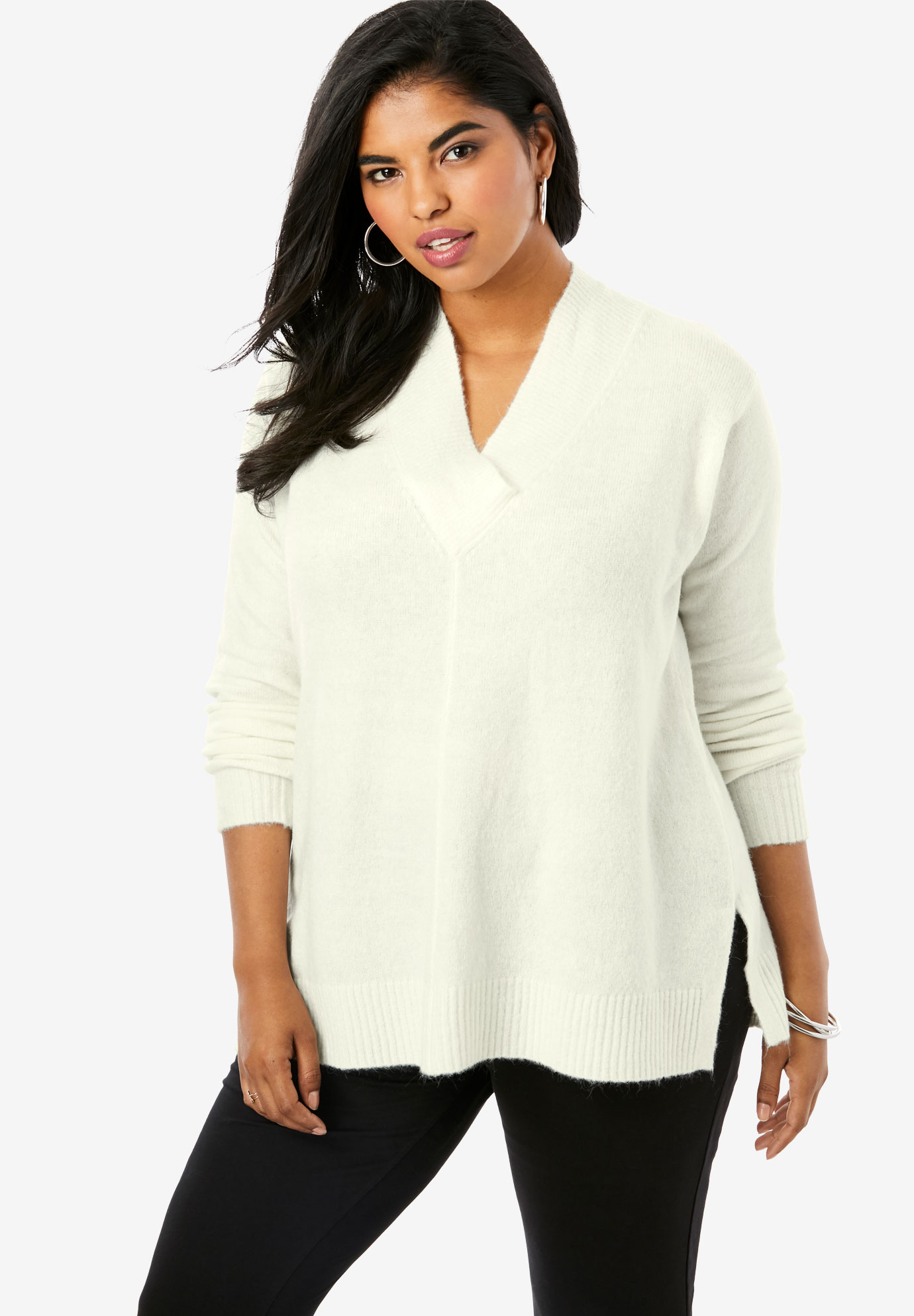 Soft Luxe V-Neck Sweater,