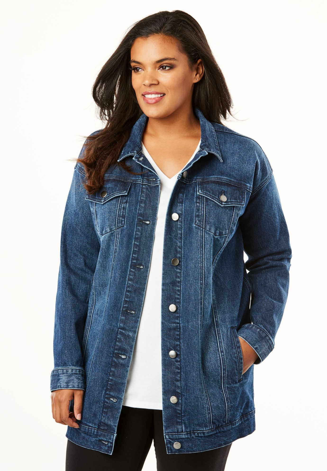 Boyfriend Denim Jacket,