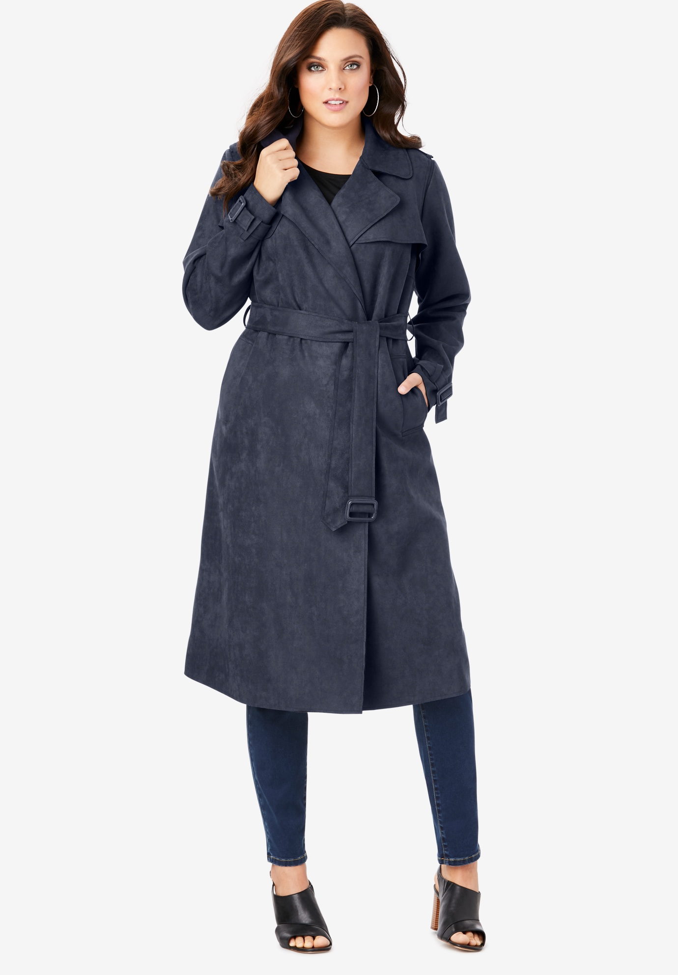 Soft Draped Trench,