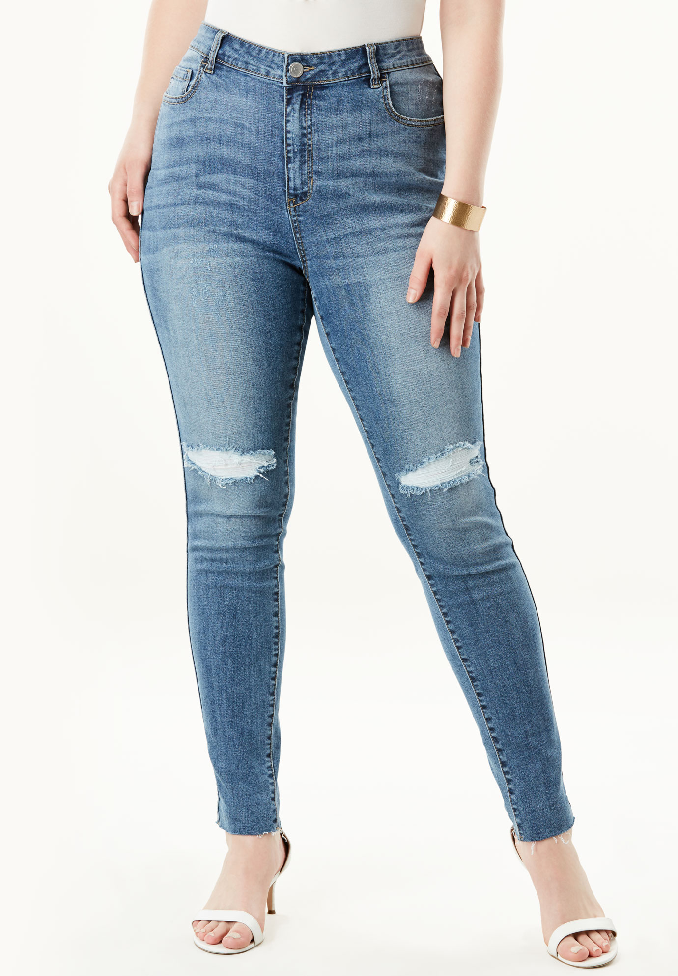High-Rise Skinny Jean by Denim 24/7®,