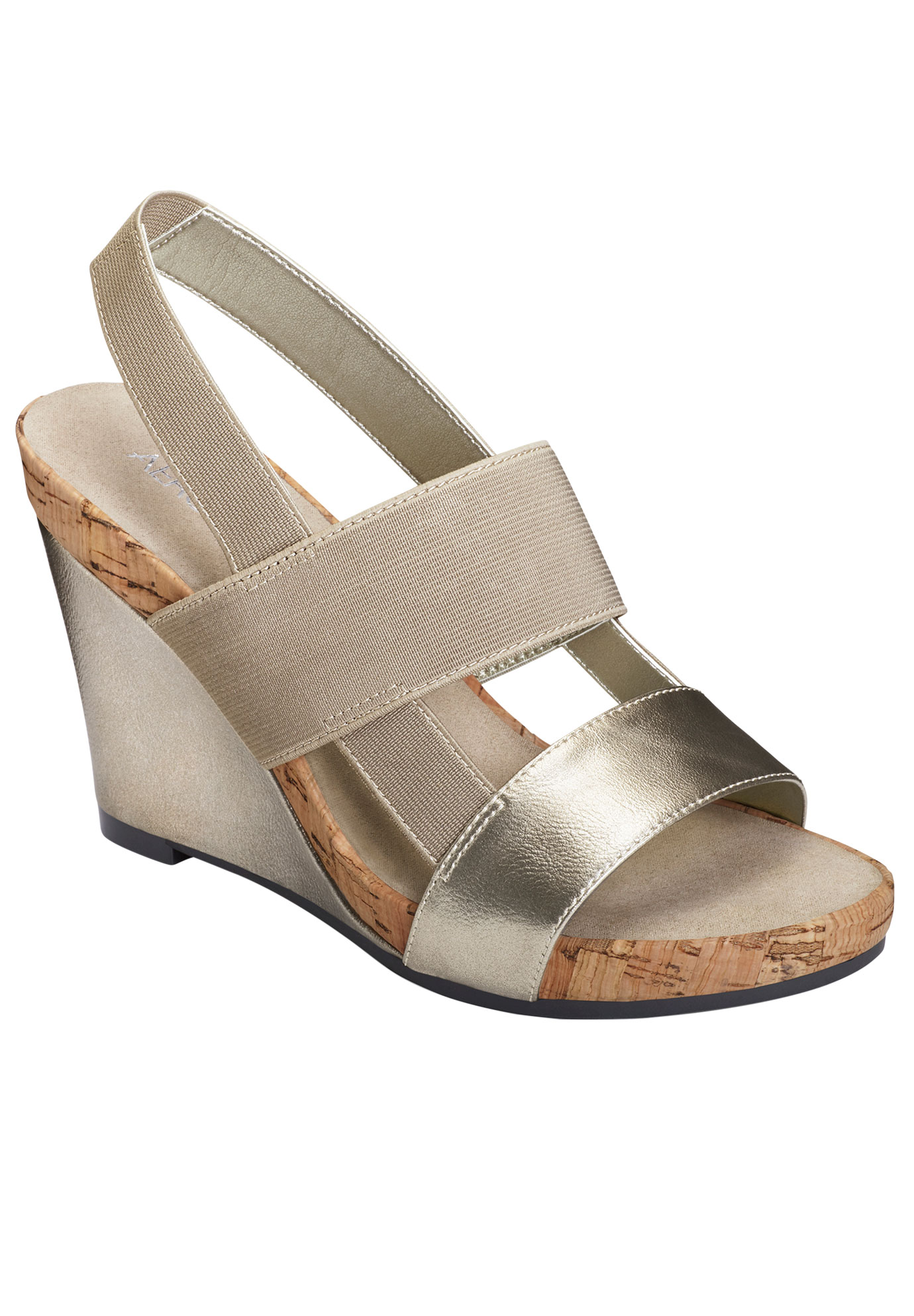 Magnolia Plush Wedge by Aerosoles®,