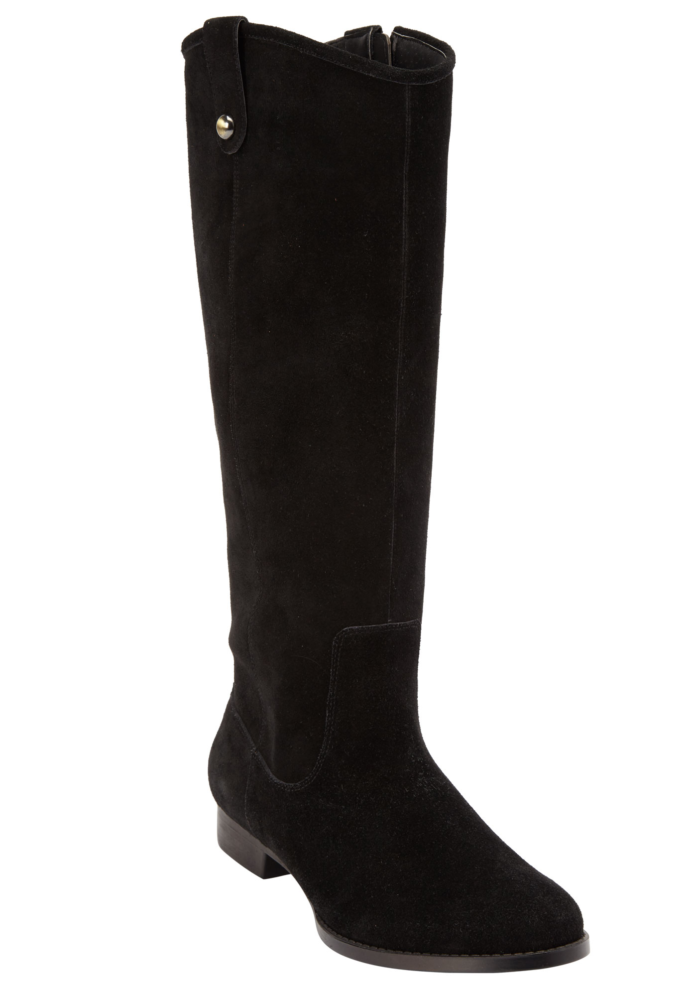 Paxton Tall Calf Boots by Comfortview, BLACK, hi-res