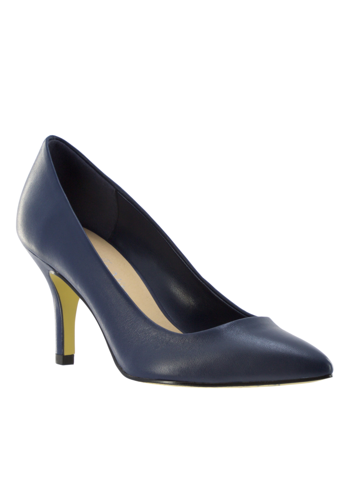 Define Pumps by Bella Vita®, NAVY LEATHER, hi-res