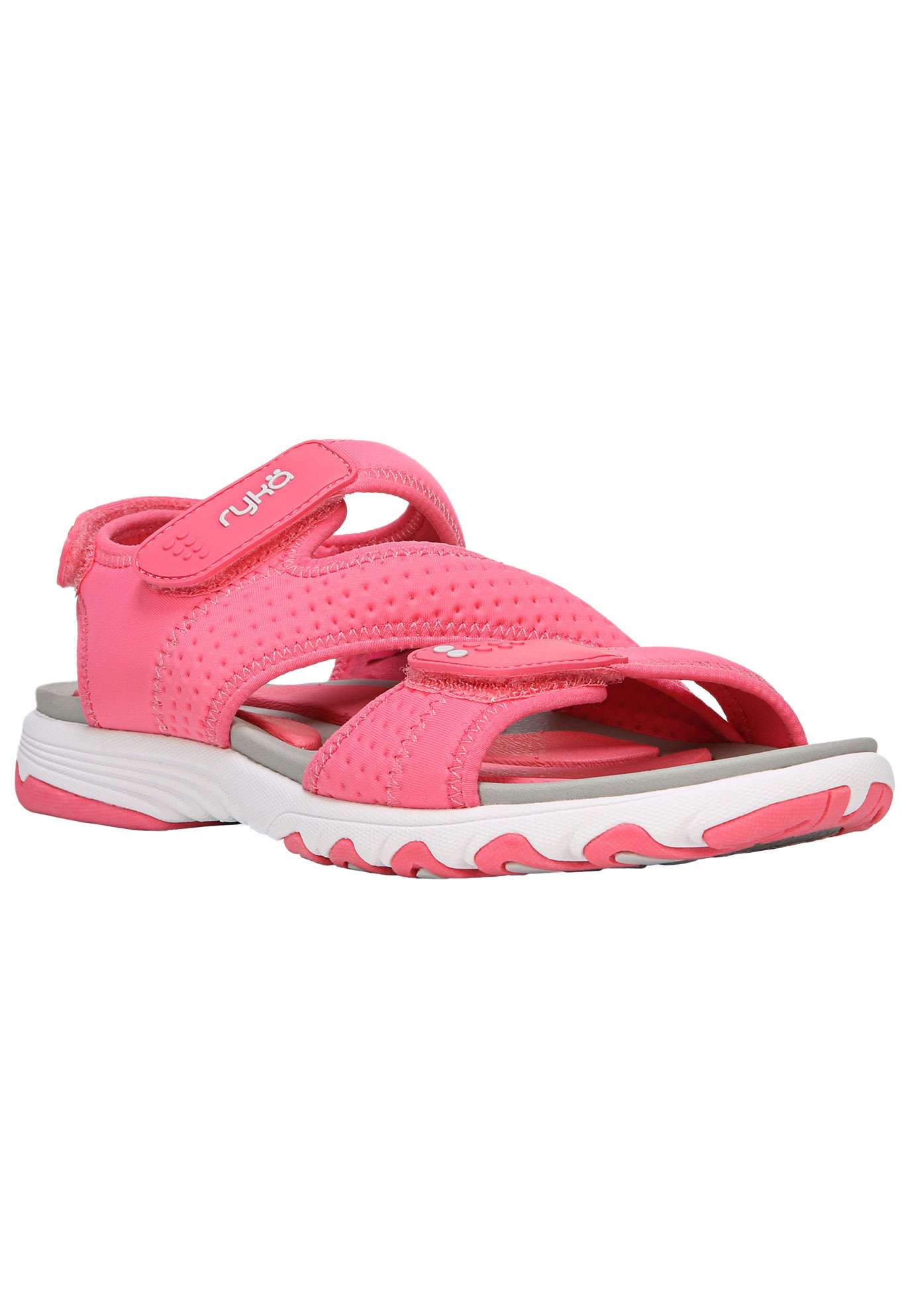 Dominica Sandals by Ryka®, CORAL GREY, hi-res