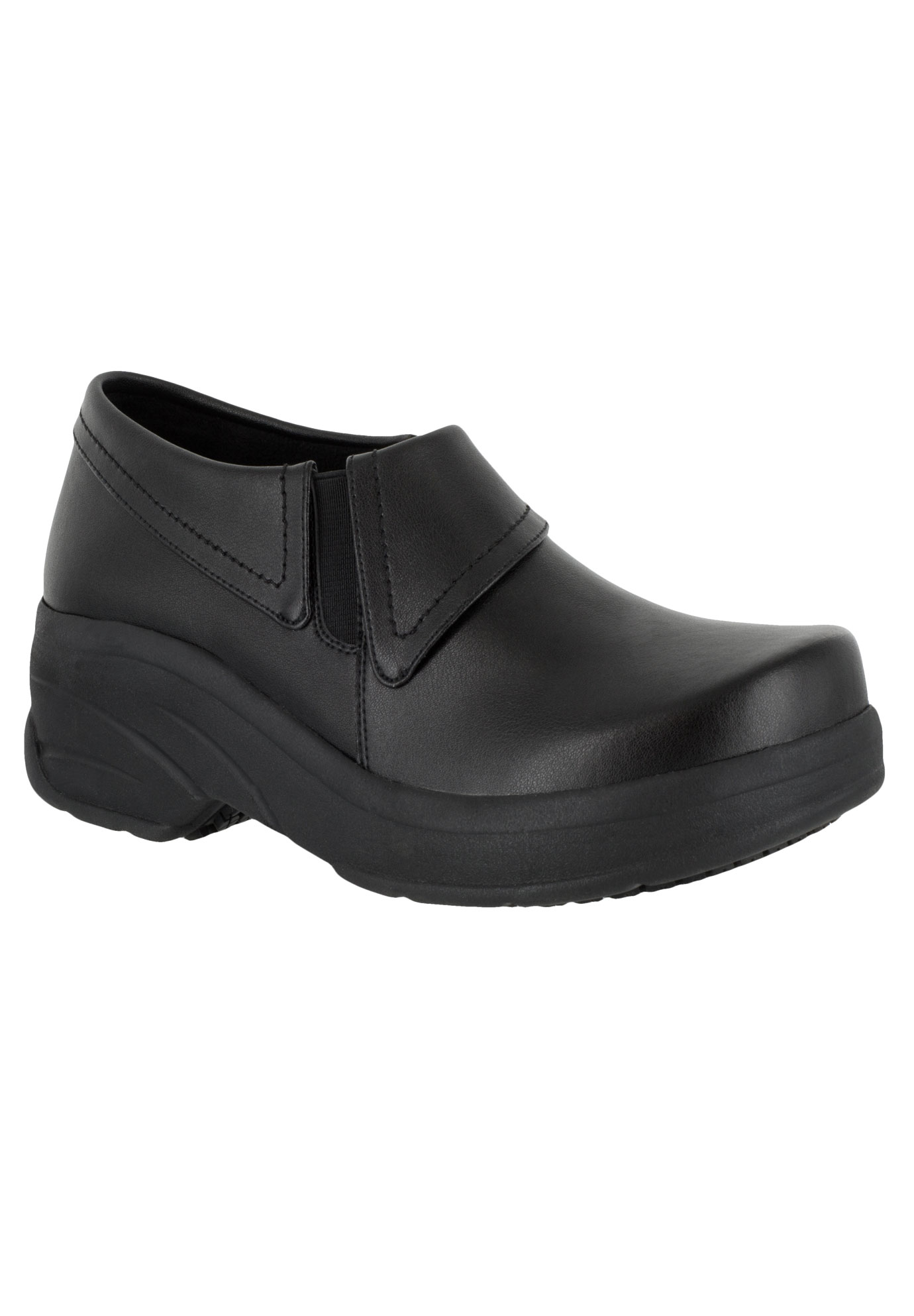 Assist Slip-Ons by Easy Works by Easy Street®, BLACK, hi-res