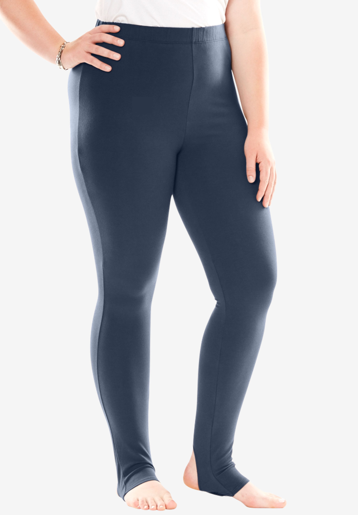 Beautiful Stirrup Legging | Plus Size Leggings | Roaman's PO84