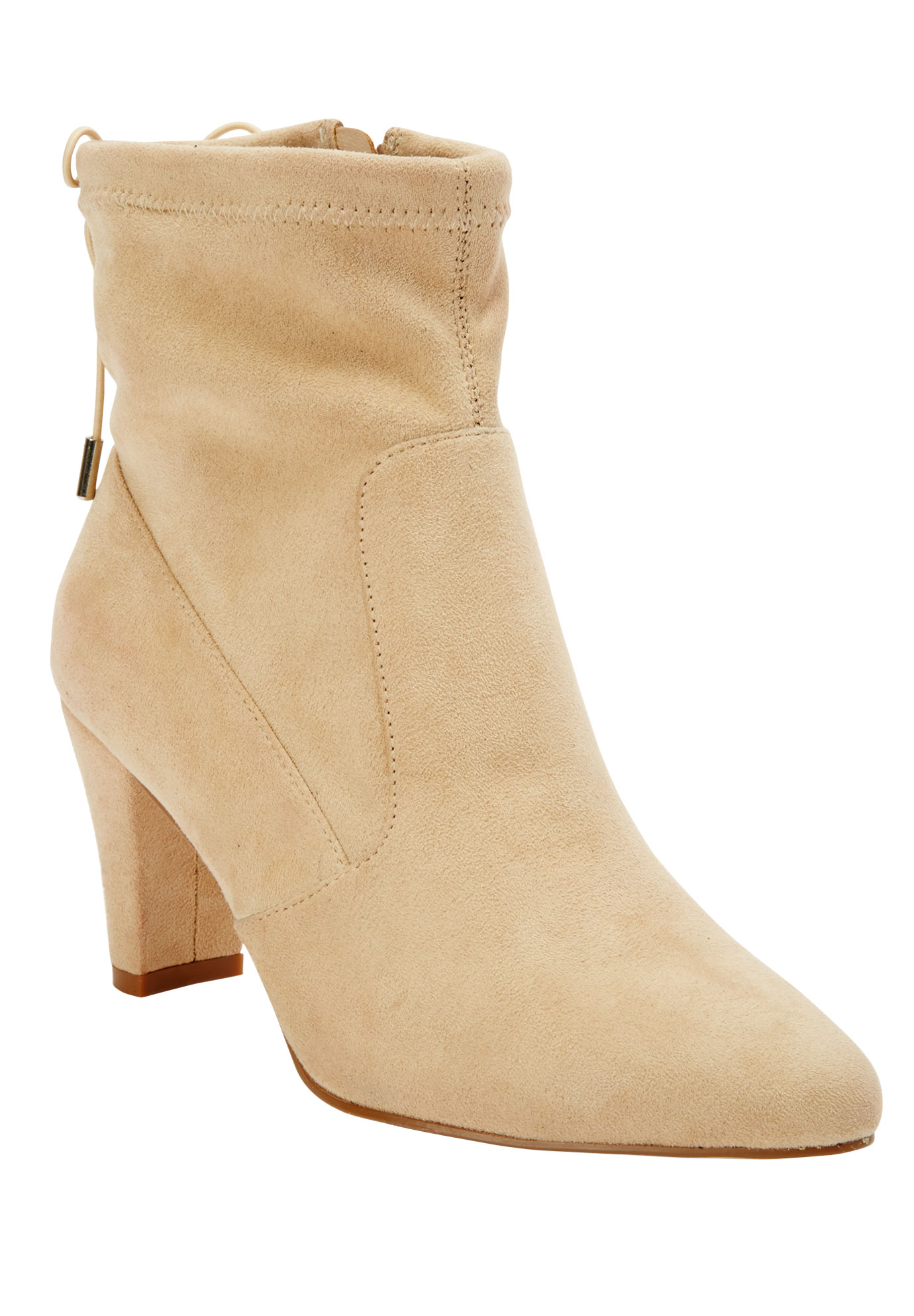 Embry Booties by Comfortview, BONE, hi-res