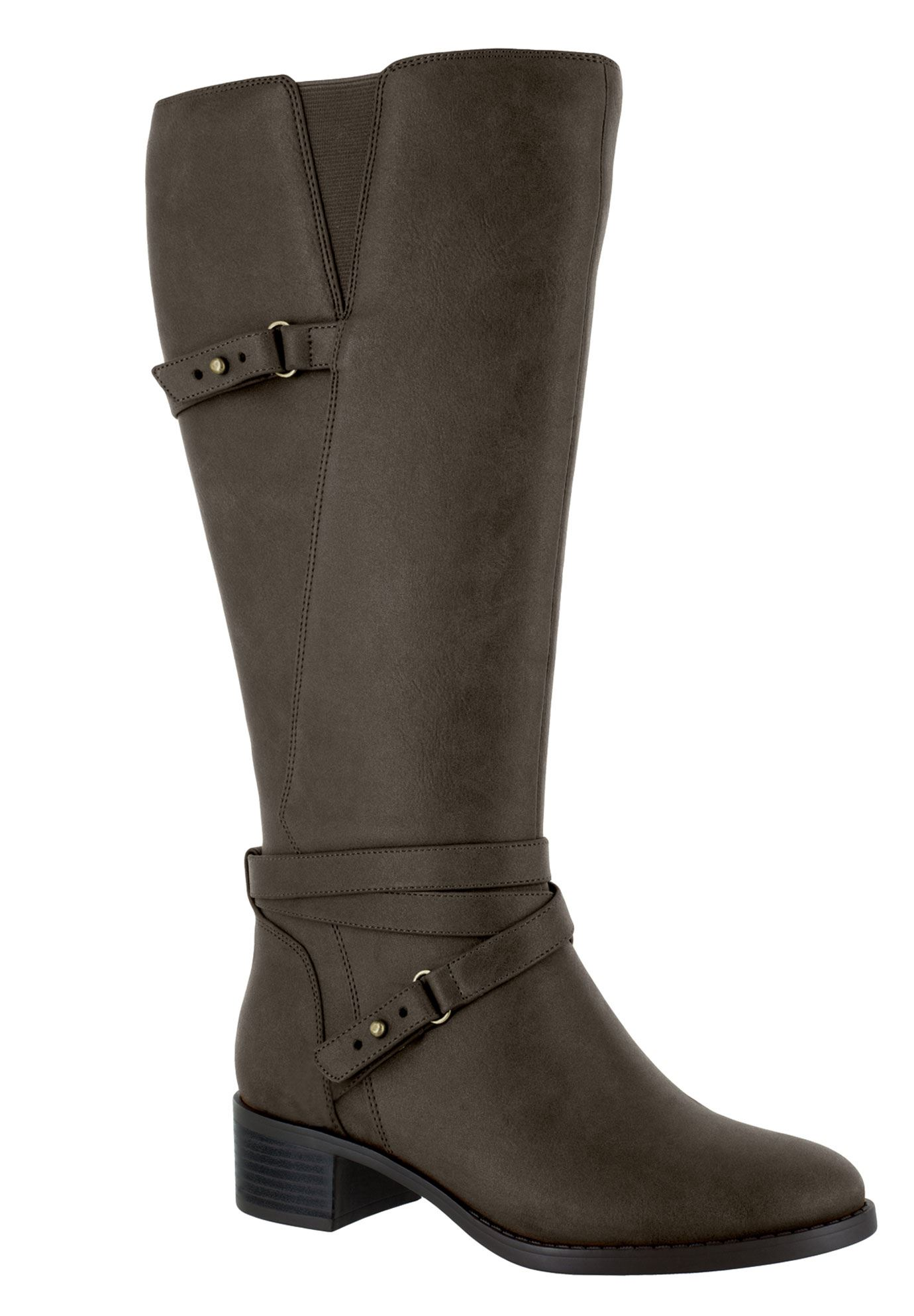 Clarita Plus Wide Calf Boots by Easy Street®,