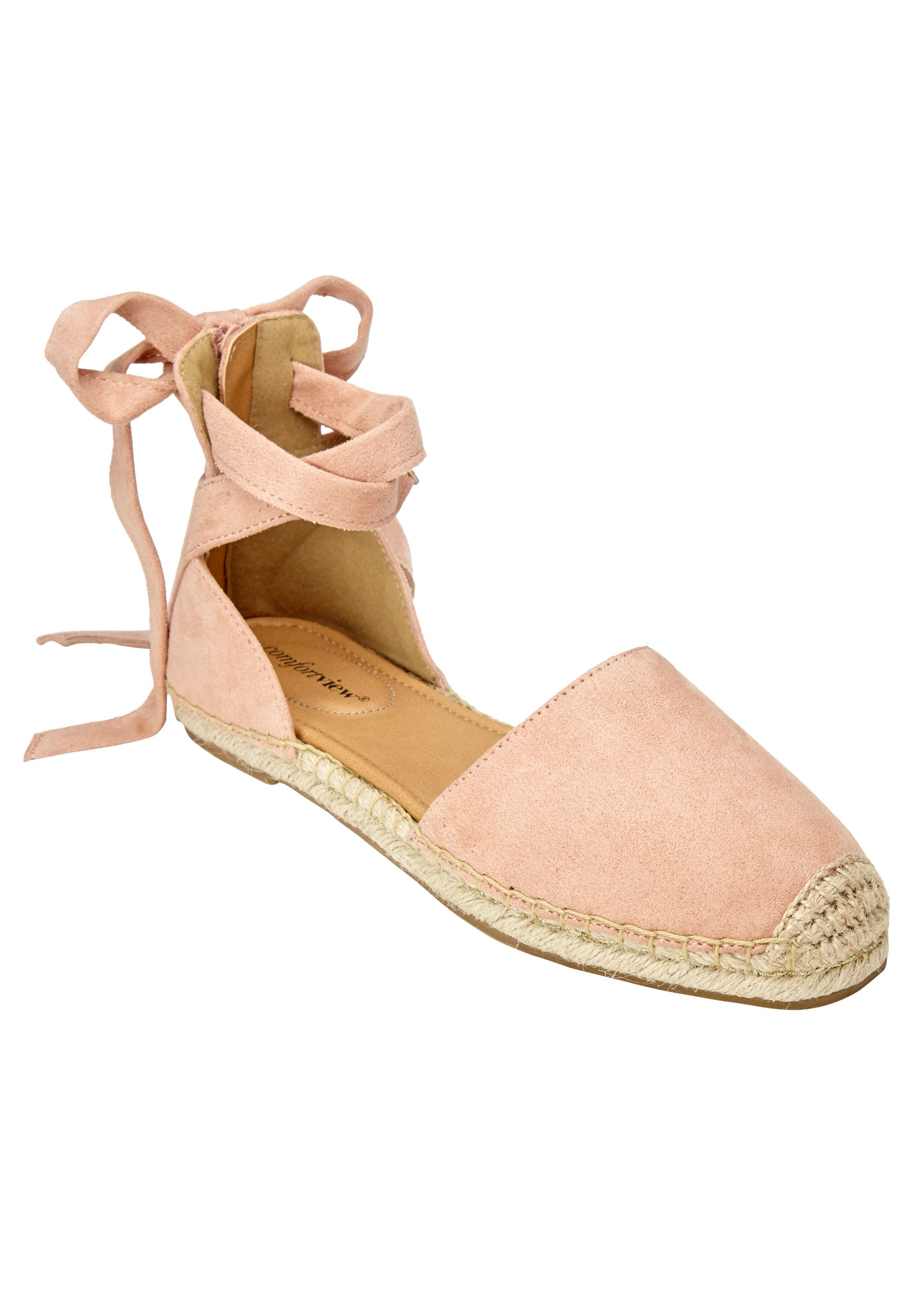 Shayla Flats by Comfortview®, DUSTY PINK, hi-res