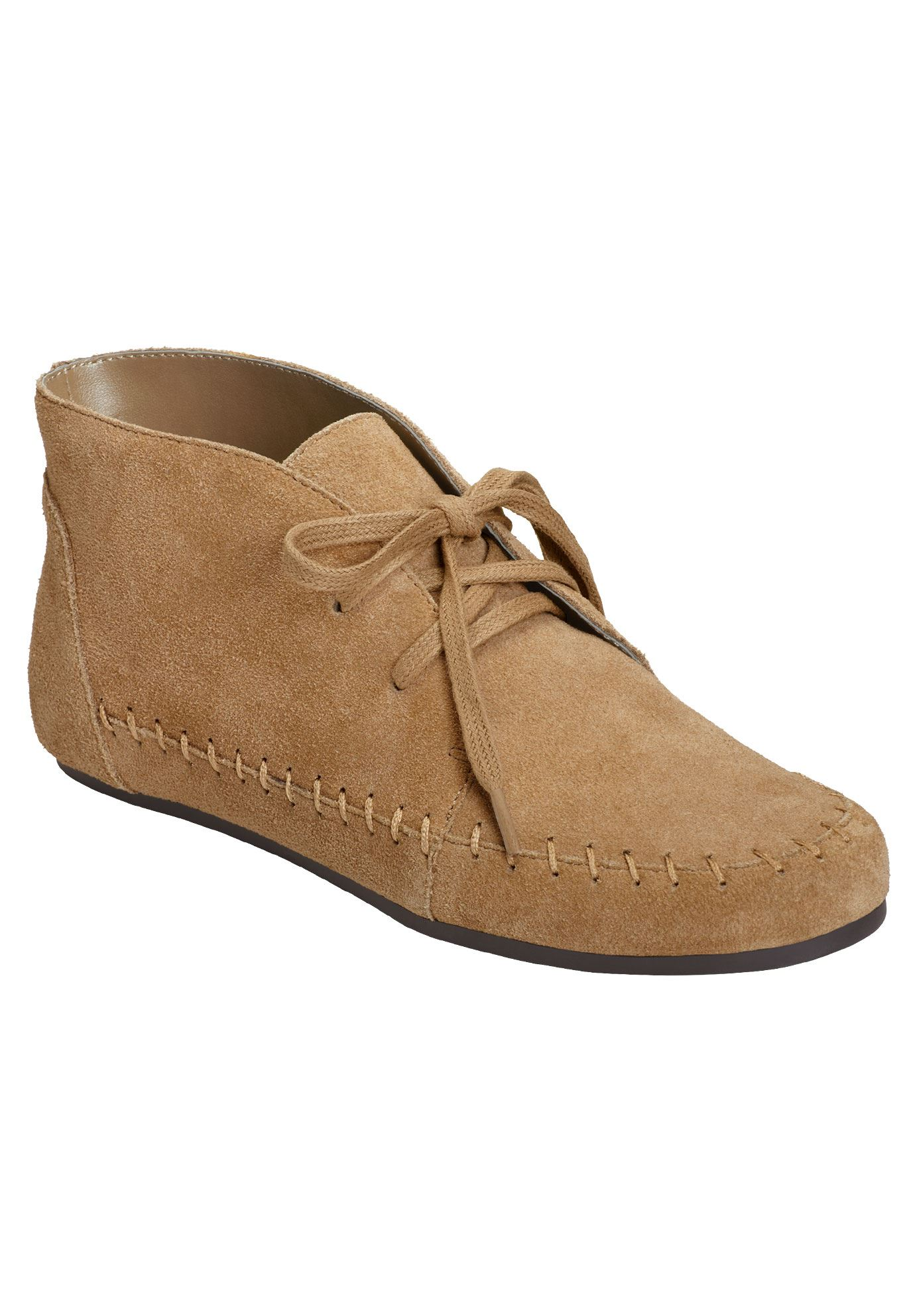 Driving Range Booties by Aerosoles®, TAN SUEDE, hi-res