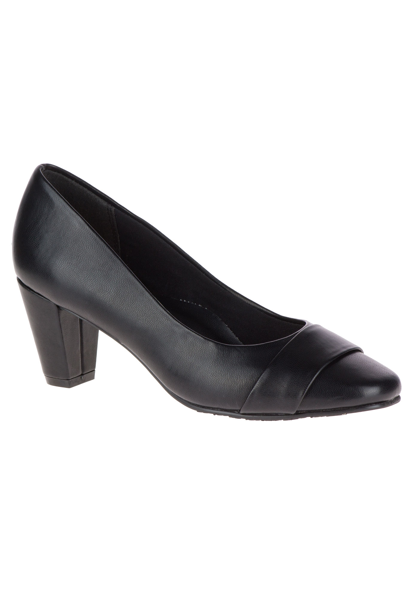 Mabry Pumps by Soft Style, BLACK, hi-res