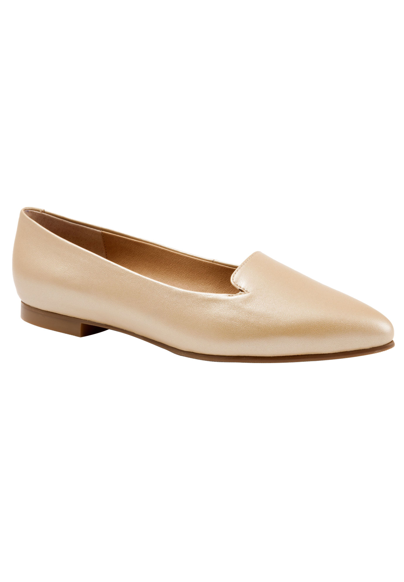 Harlowe Slip Ons by Trotters®, GOLD WASH, hi-res