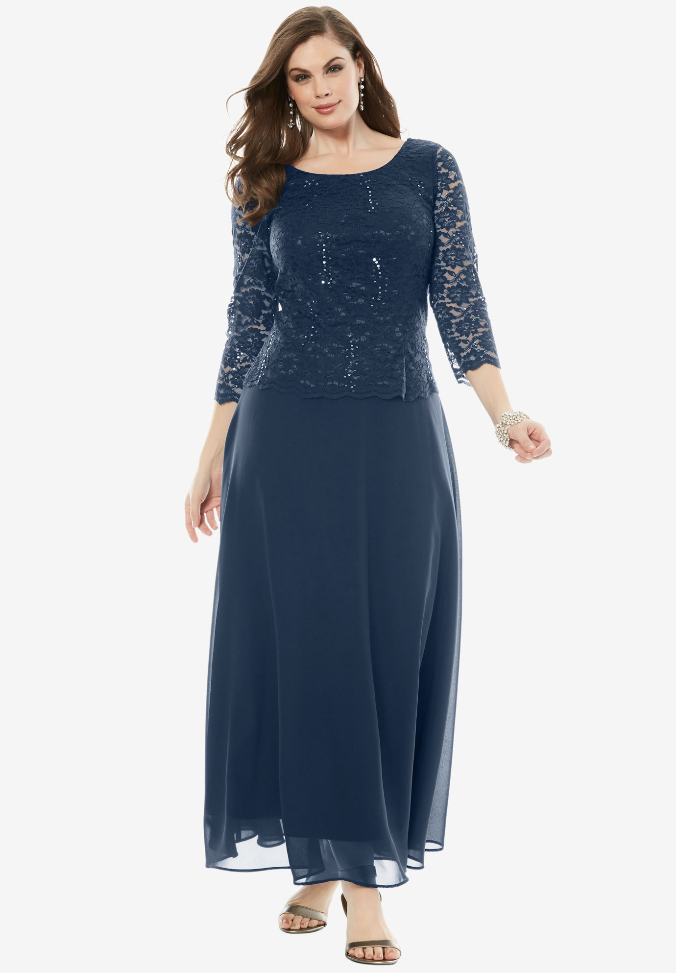 Plus Size Evening Dresses for Women | Roaman\'s