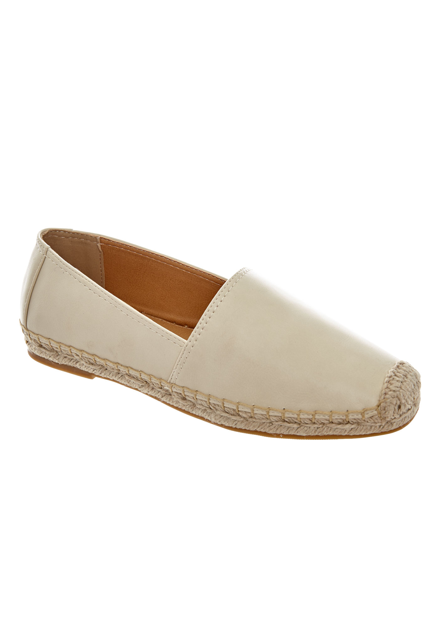 Carlee Espadrilles by Comfortview®, BONE, hi-res